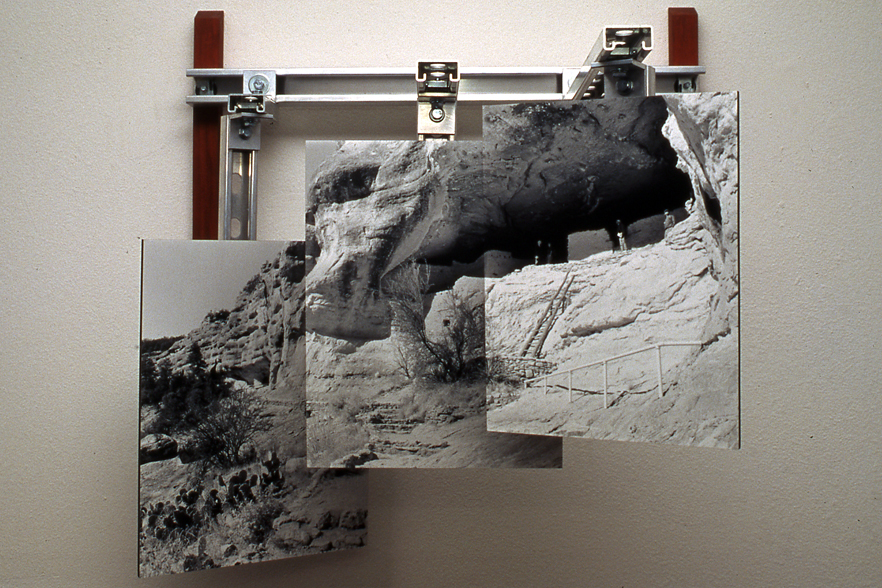 Gila Cliff Dwelling, NM, a photo construction by Thomas Strich
